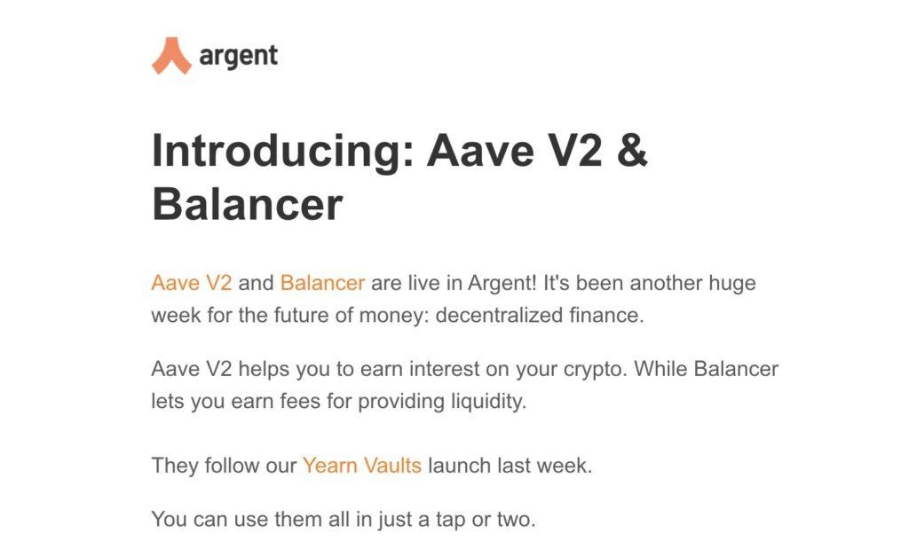 argent new launch